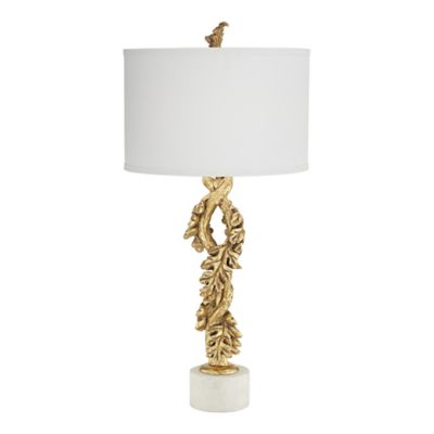 Buy kathy ireland home lamps from bed bath beyond pacific coast lighting kathy ireland home falling oak leaves table lamp in gold aloadofball Gallery