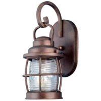 Kenroy Home Beacon 13-Inch Wall-Mount Outdoor Lantern in Copper