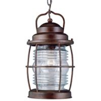Kenroy Home Beacon Hanging Outdoor Lantern in Copper
