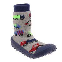 Capelli New York Size 6M Car Slipper Socks in Black