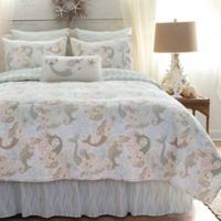 Mystic Echoes Full/Queen Quilt in White
