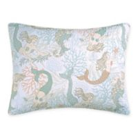 Mystic Echoes Standard Pillow Sham in White