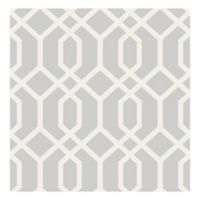 Trellis Montauk Removable Wallpaper in Grey