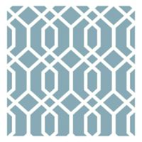 Trellis Montauk Removable Wallpaper in Blue