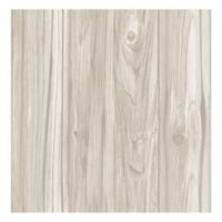 Brewster Home Fashions Paneling Wide Plank Wallpaper in Grey