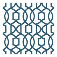 NuWallpaper™ Grand Trellis Peel & Stick Wallpaper in Navy