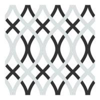 Nuwallpaper™ Lattice Peel And Stick Wallpaper in Grey