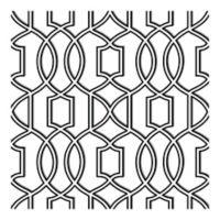 NuWallpaper™ Uptown Trellis Peel & Stick Wallpaper in Black/White