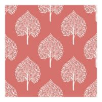 Nuwallpaper™ Grove Peel And Stick Wallpaper in Coral