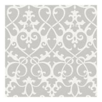 Nuwallpaper™ Ironwork Peel And Stick Wallpaper in Grey