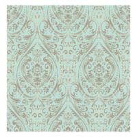 WallPops!® NuWallpaper™ Nomad Damask Peel & Stick Wallpaper in Turquoise