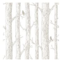 Nuwallpaper™ The Forest Peel & Stick Wallpaper in Grey