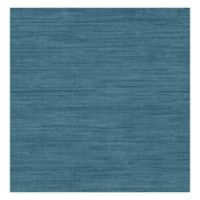 Grasscloth Removable Wallpaper in Sea Grass Blue