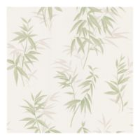 Brewster Home Fashions Bamboo Leaf Texture Wallpaper in Green