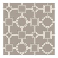 A-Street Prints Matrix Geometric Wallpaper in Taupe