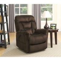Pulaski Serengeti Power Lift Chair in Dark Brown