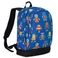 Olive Kids Robots Sidekick Backpack in Blue