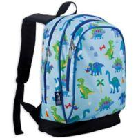 Wildkin Olive Kids Sidekick Dinosaur Land Backpack in Blue