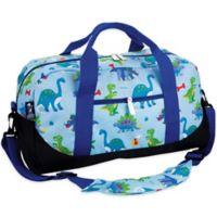 Olive Kids Dinosaur Land Duffle Bag in Blue