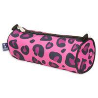 wildkin Pink Leopard Pencil Case
