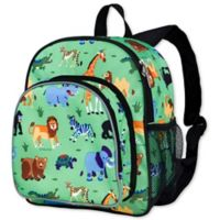 Olive Kids Wild Animals Pack 'N Snack Backpack in Green