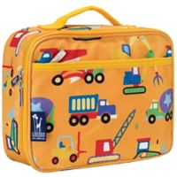 Olive Kids Under Construction Insulated Fabric Lunch Box