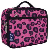 Wildkin Leopard Lunch Box in Pink