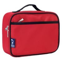 Wildkin Insulated Fabric Lunch Box in Cardinal Red