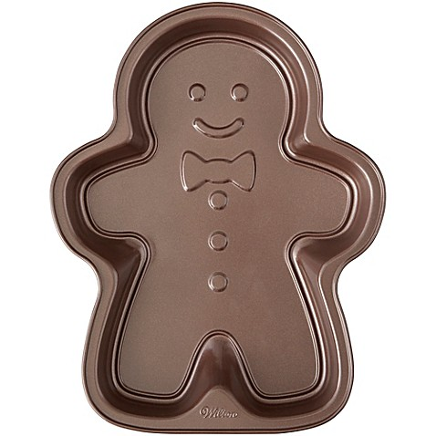 Wilton Gingerbread Man Cake Pan