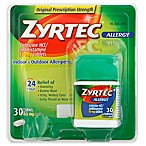 Zyrtec 30-Count 10 mg Tablets