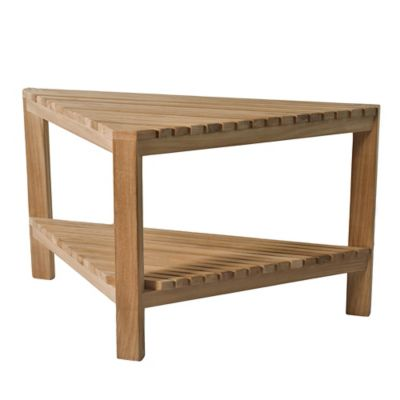 Buy Teak Furniture From Bed Bath Beyond - Teak outdoor end table