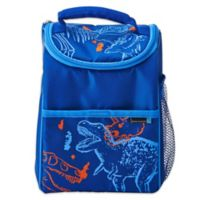 Lifetime Brands BYO Dual Dino-Mite Lunch Bag in Blue