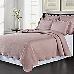 Lyon Matelassé King Coverlet Set in Wisteria