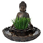 Bombay® Outdoor Buddha Bird Bath Planter