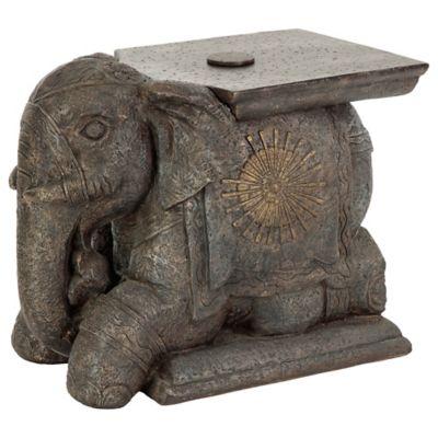 Elegant Bombay® Outdoor Elephant Umbrella Base And Table