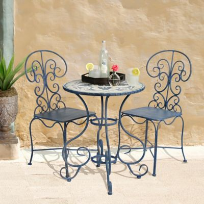 Bombay® Outdoor Toulouse 3 Piece Bistro Set In Brown