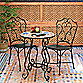 Bombay® Outdoor Lucienne 3-Piece Bistro Set in Brown