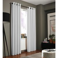 Kenneth Cole Reaction Home Bryant Park 84-Inch Grommet Top Window Curtain Panel in White
