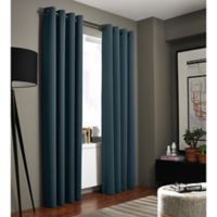 Kenneth Cole Reaction Home Bryant Park 63-Inch Grommet Top Window Curtain Panel in Azure