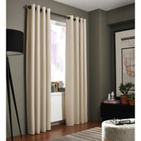 Kenneth Cole Reaction Home Bryant Park 95-Inch Grommet Top Window Curtain Panel in Hemp