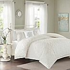 Madison Park Sabrina 4-Piece Full / Queen Comforter Set in White