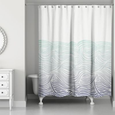 Buy Nautical Bath Curtain From Bed Bath Amp Beyond