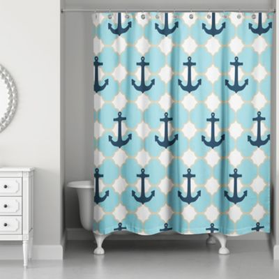 Buy Anchor Shower Curtains from Bed Bath & Beyond
