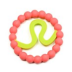chewbeads® Baby Zodies Leo Teether in Pink