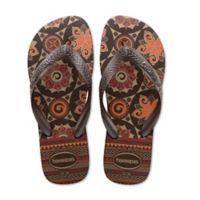Havaianas® Size 6 Top Spring Women's Sandal in Brown