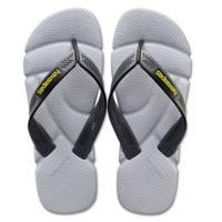Havaianas® Size 9/10 Power Men's Sandal in Grey
