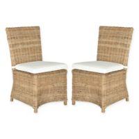 Safavieh Sebesi Rattan Side Chair in Natural (Set of 2)
