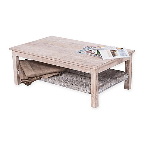 image of Safavieh Minerva Coffee Table in White