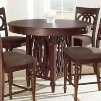Steve Silver Co. Dolly Counter Height Table in Cherry
