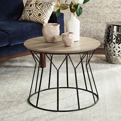 Superb Safavieh Alcott End Table In Light Grey